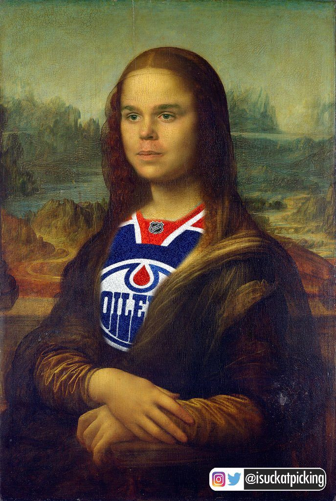 connor mcdavid mona lisa
