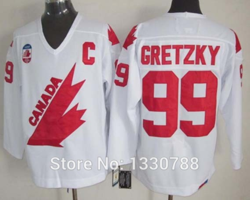 Canada Cup Gretzky Jersey
