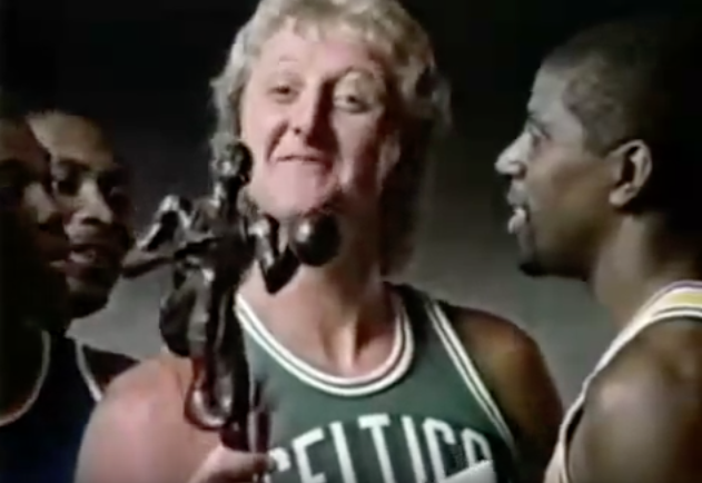 larry bird magic johnson commercial
