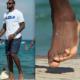 lebron james toes