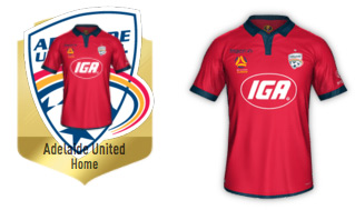 adelaide united iga kit