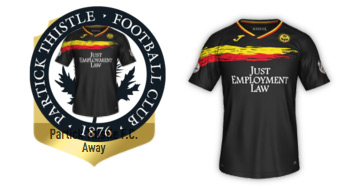 funny fifa 18 kit partick thistle