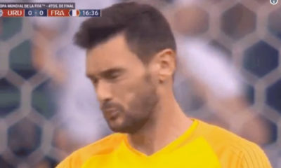 hugo lloris dragonfly mouth