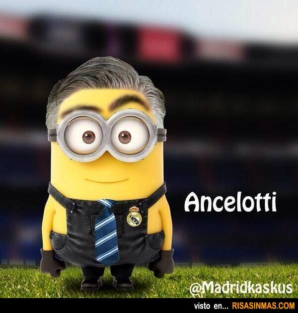 carlo ancelotti minion