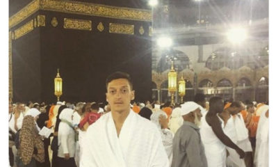 mesut ozil finds space mecca