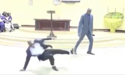 african preacher soccer video