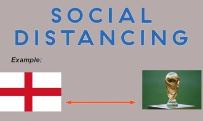 england world cup social distancing